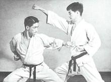 009 Hidetaka Nishiyama Tettsui-Uchi in Kiba-Dachi