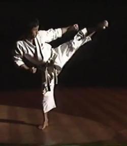 016 Methodische Übungsreihe: Masao Kawasoe Yoko-Geri in Kata Heian Yondan